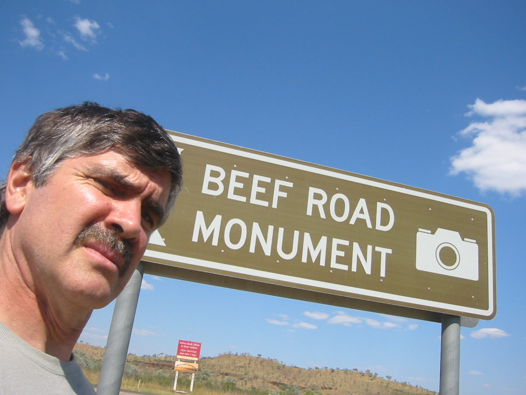 Beef Road Monument