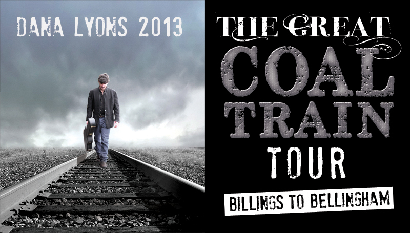Coal Train Tour Poster 2013