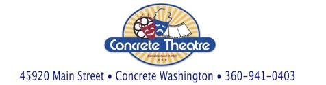 Concrete Theatre masthead