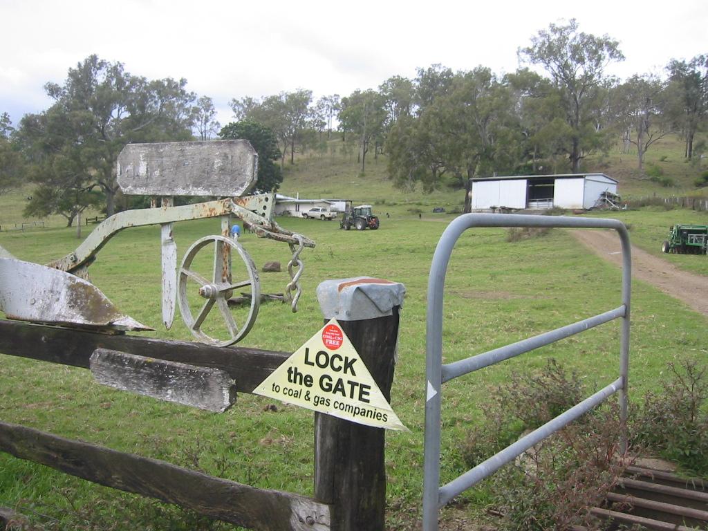 Farm after farm locks the gate
